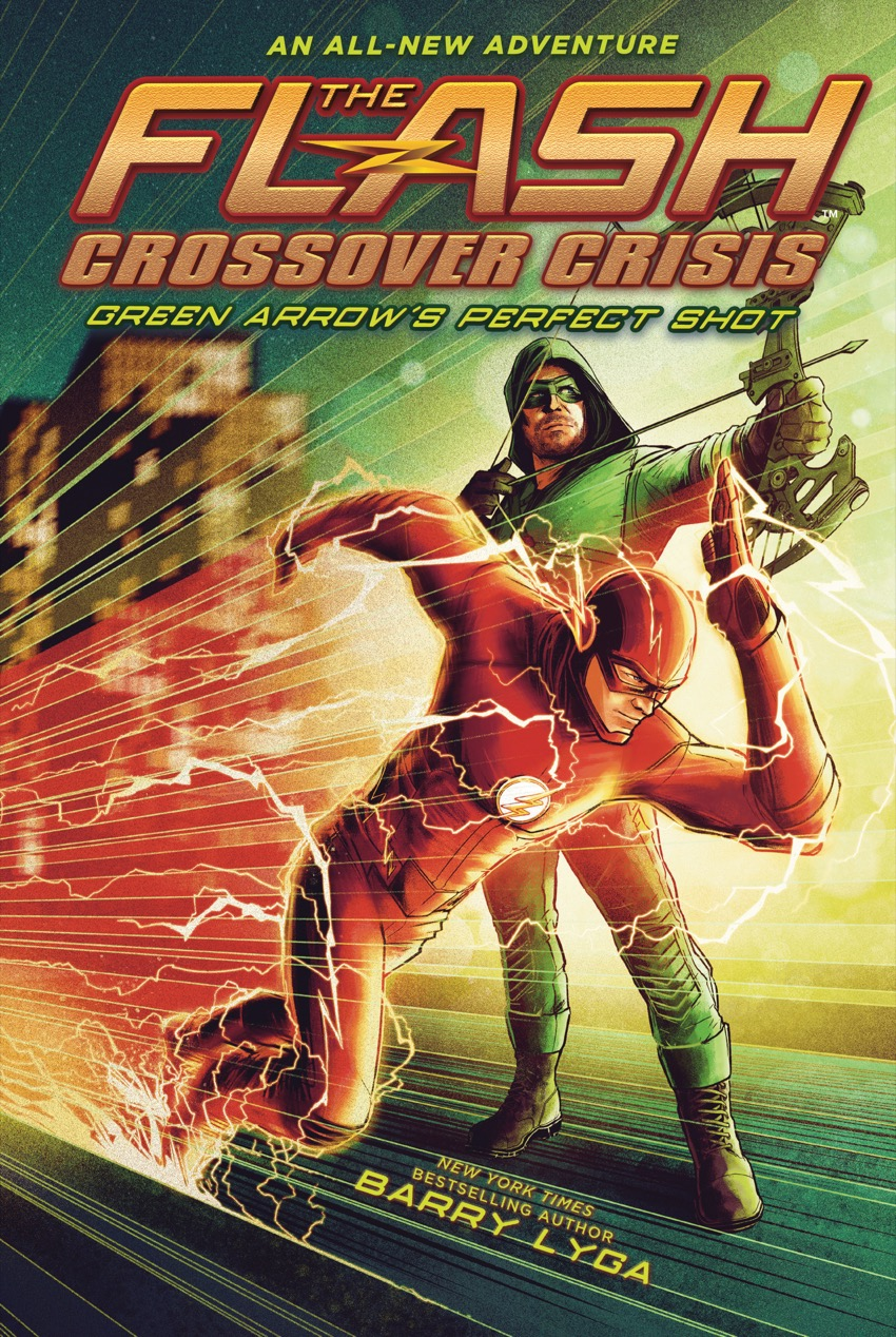 cover to Flash/Green Arrow book